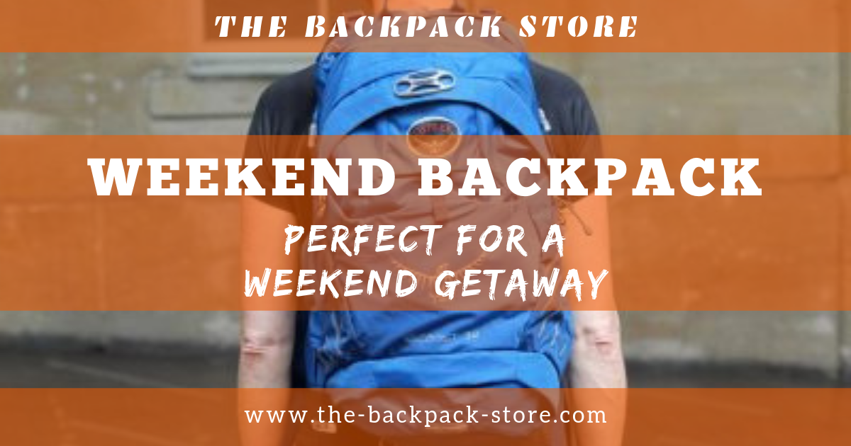 Weekend Backpack - Perfect For a Weekend Getaway
